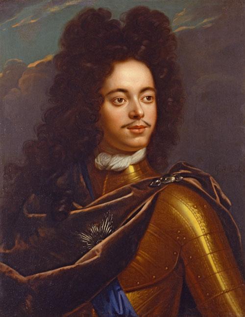 Петр I (портрет из собрания